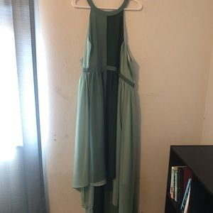 ModCloth Sleeveless Hi-Low Dress